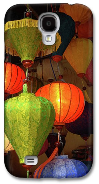 Asia, Vietnam Colorful Fabric Lanterns Galaxy S4 Case