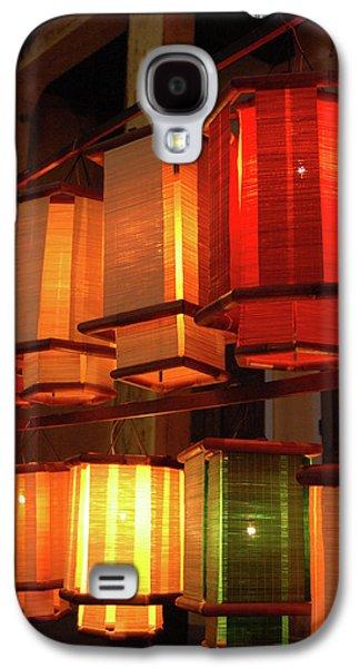 Asia, Vietnam Fabric Lanterns, Hoi An Galaxy S4 Case