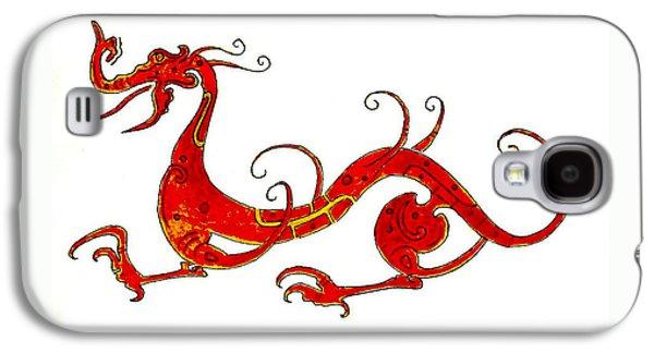 Dragon Galaxy S4 Case - Asian Dragon by Michael Vigliotti
