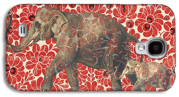 Asian Elephant-jp2185 Galaxy S4 Case