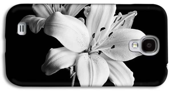 Asian Lilies 1 Galaxy S4 Case by Sebastian Musial