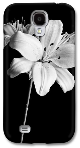 Asian Lilies 2 Galaxy S4 Case by Sebastian Musial