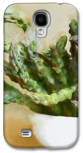 Asparagus Galaxy S4 Case by HD Connelly