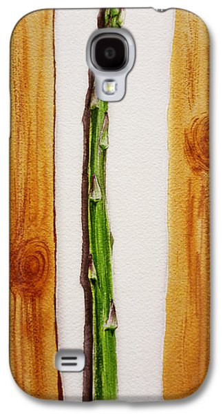 Asparagus Tasty Botanical Study Galaxy S4 Case