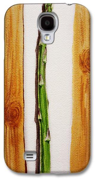 Asparagus Tasty Botanical Study Galaxy S4 Case by Irina Sztukowski