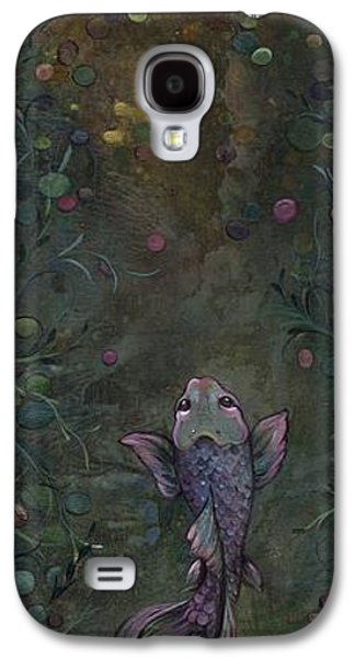 Aspiration Of The Koi Galaxy S4 Case by Shadia Derbyshire