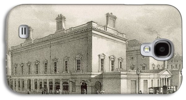 Assembly Rooms, Bath, Circa 1883 Galaxy S4 Case by R Woodroffe