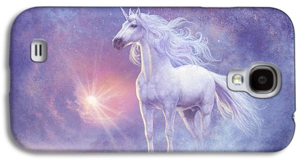 Astral Unicorn Galaxy S4 Case by Steve Read