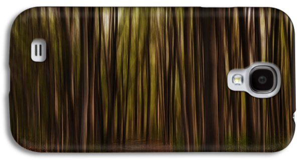 Astray- Walking Path Art Galaxy S4 Case by Lourry Legarde