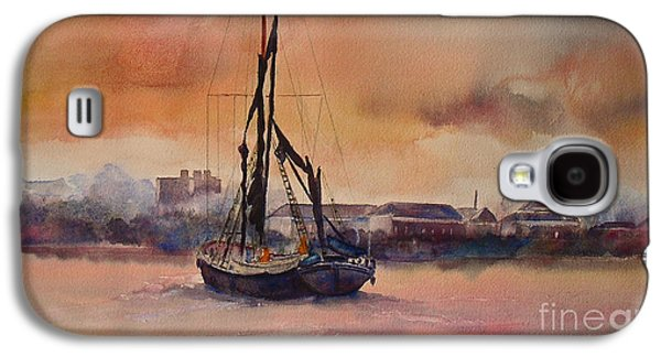 At Rest On The Thames London Galaxy S4 Case by Beatrice Cloake