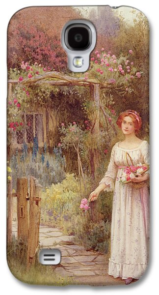 At The Garden Gate Galaxy S4 Case by William Affleck
