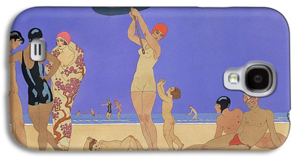 At The Lido Galaxy S4 Case by Georges Barbier