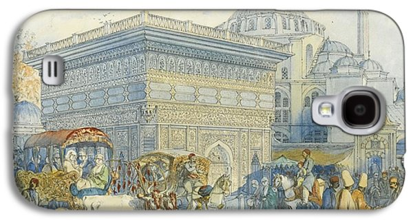 At The Tophane Fountain Galaxy S4 Case by Amadeo Preziosi