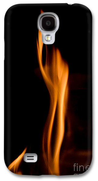 At845903 Fire Statue Galaxy S4 Case by Karl Thomas