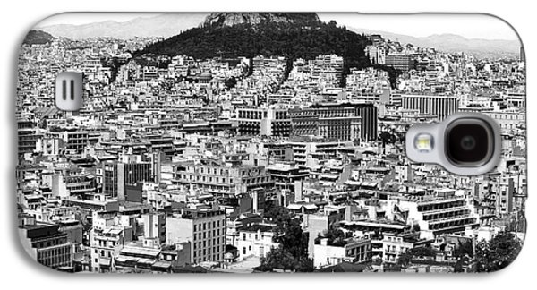 Athens City View In Black And White Galaxy S4 Case