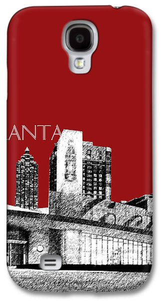 Atlanta World Of Coke Museum - Dark Red Galaxy S4 Case