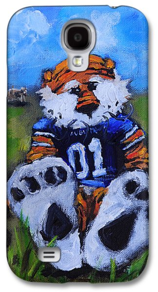 Cow Galaxy S4 Case - Aubie With The Cows by Carole Foret