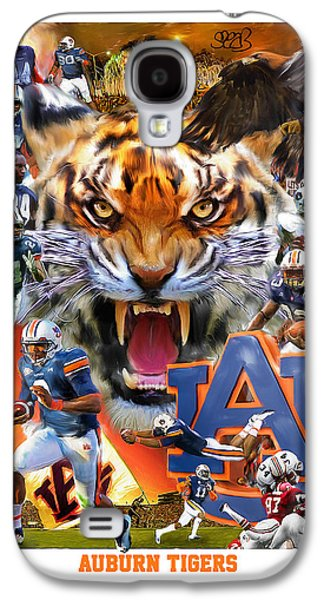 Auburn Tigers Galaxy S4 Case by Mark Spears