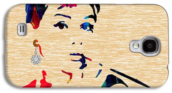 Audrey Helburn Collection Galaxy S4 Case by Marvin Blaine