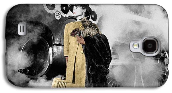 Audrey Hepburn 7 Galaxy S4 Case
