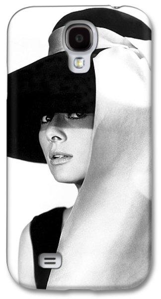 Audrey Hepburn Galaxy S4 Case by Daniel Hagerman