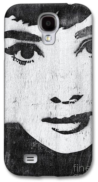 Audrey Hepburn Galaxy S4 Case by Tim Gainey