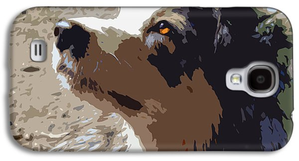 Aussie Galaxy S4 Case by Nancy Merkle