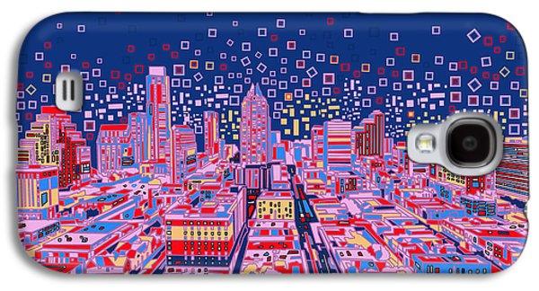 Austin Texas Abstract Panorama Galaxy S4 Case