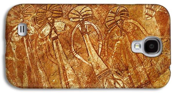 Australia Ancient Aboriginal Art 3 Galaxy S4 Case