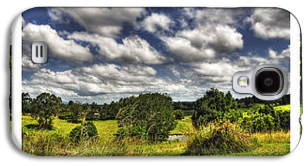Australian Countryside - Floating Clouds Collage Galaxy S4 Case