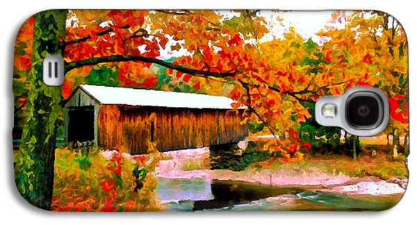 Authentic Covered Bridge Vt Galaxy S4 Case