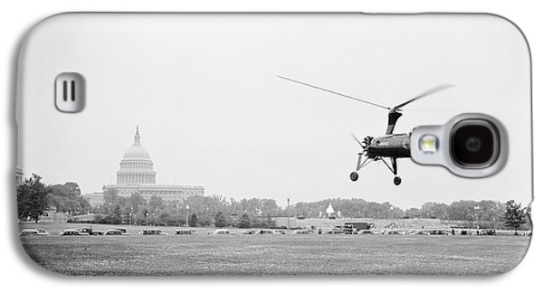Autogyro Mail Shuttle Galaxy S4 Case by Library Of Congress