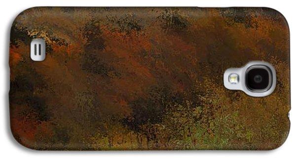 Autumn Abstract Galaxy S4 Case