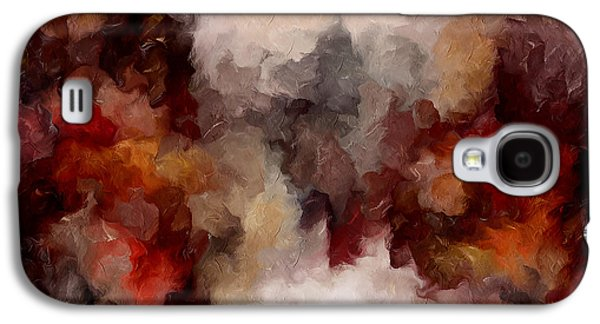 Autumn Abstract Galaxy S4 Case