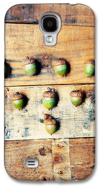 Autumn Acorns Galaxy S4 Case