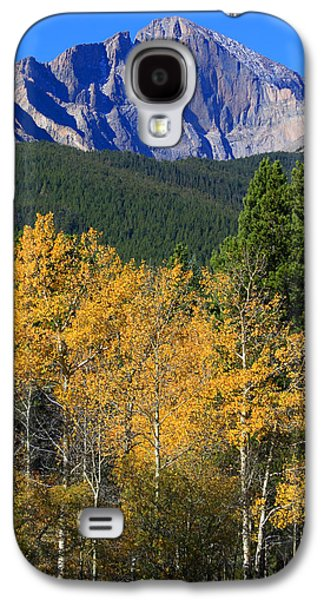 Autumn Aspens And Longs Peak Galaxy S4 Case