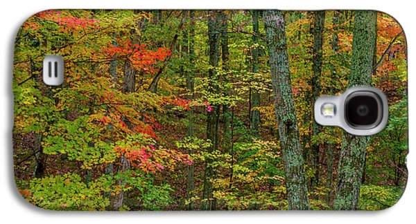 Autumn Color In Brown County State Galaxy S4 Case by Chuck Haney