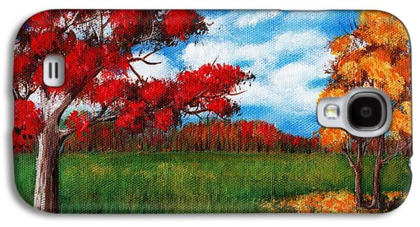 Autumn Colors Galaxy S4 Case by Anastasiya Malakhova