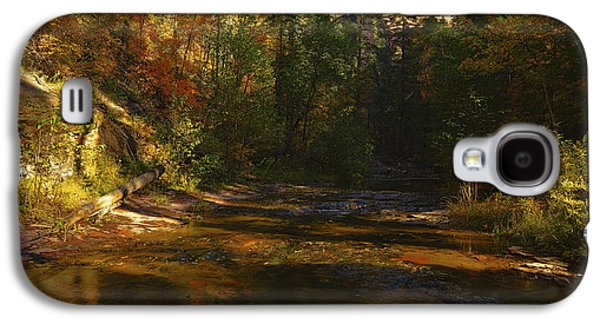 Autumn Colors By The Creek  Galaxy S4 Case by Saija  Lehtonen