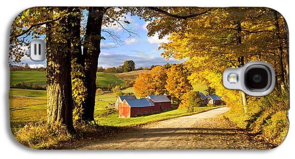 Autumn Farm In Vermont Galaxy S4 Case