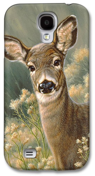 Autumn Fawn-blacktail Galaxy S4 Case