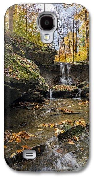 Autumn Flows Galaxy S4 Case by James Dean