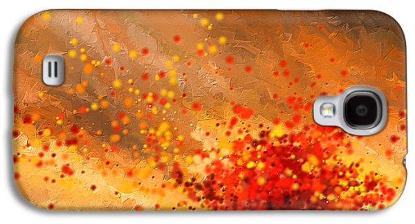 Autumn-four Seasons- Four Seasons Art Galaxy S4 Case