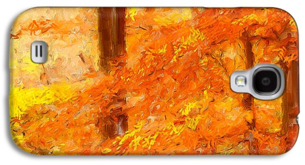 Autumn Impressions Galaxy S4 Case by Lourry Legarde