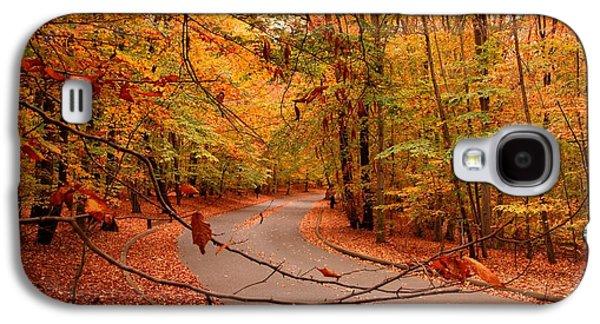 Autumn In Holmdel Park Galaxy S4 Case