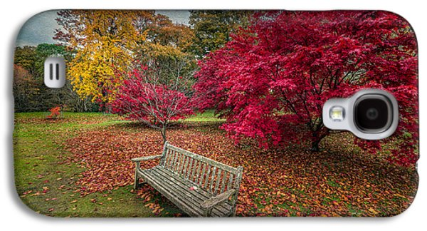 Autumn In The Park Galaxy S4 Case by Adrian Evans