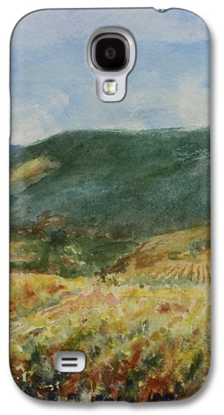 Harvest Time In Napa Valley Galaxy S4 Case by Maria Hunt