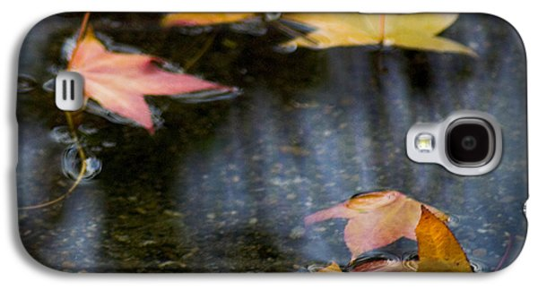 Autumn Leaves On Water Galaxy S4 Case