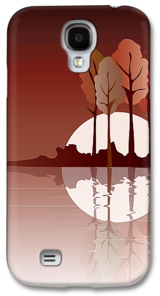 Autumn Reflected Galaxy S4 Case by Jane Rix
