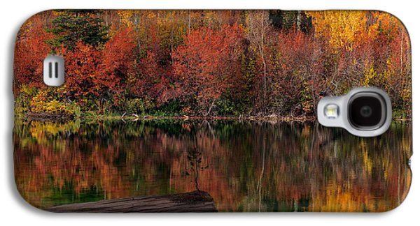 Autumn Reflections Galaxy S4 Case by Leland D Howard